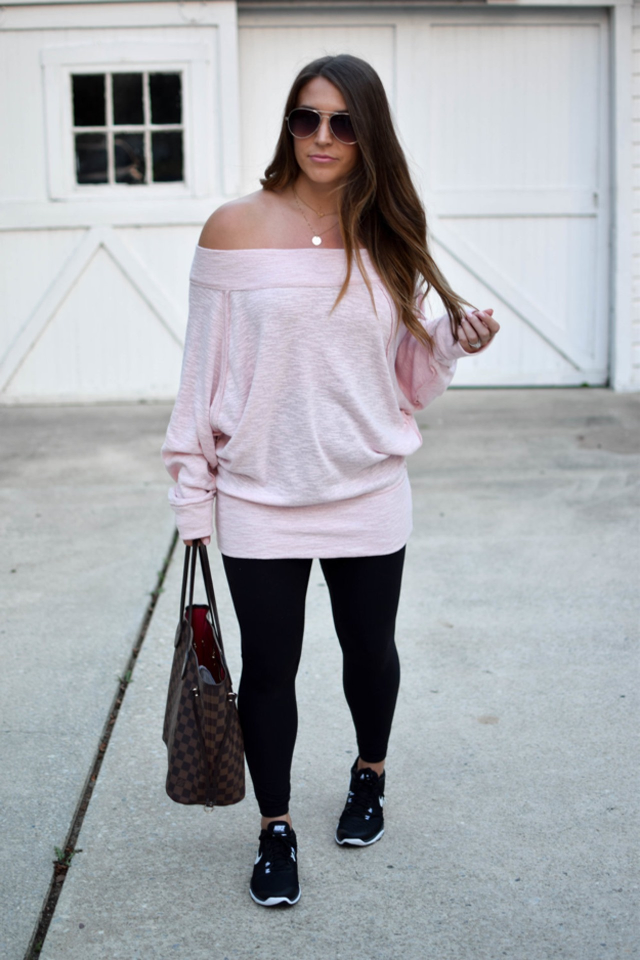 _Girlinskinnyfit_ - pink+off+shoulder+dress