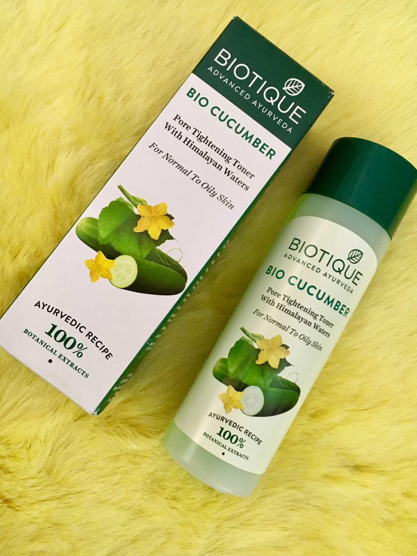 Biotique Bio Cucumber Pore Tightening Toner with Himalaya Waters Review image