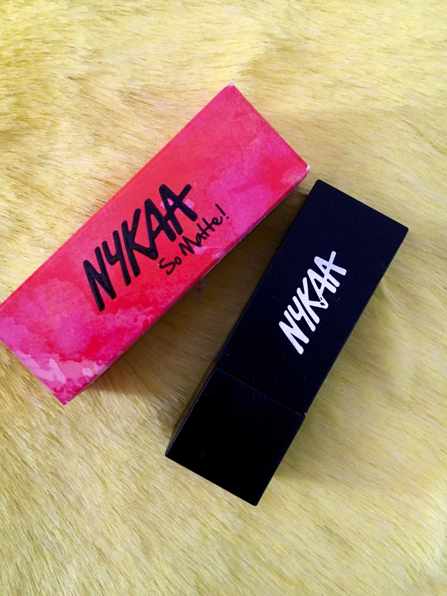 Nykaa So Matte Lipstick Sinful Blush Review, Swatch image