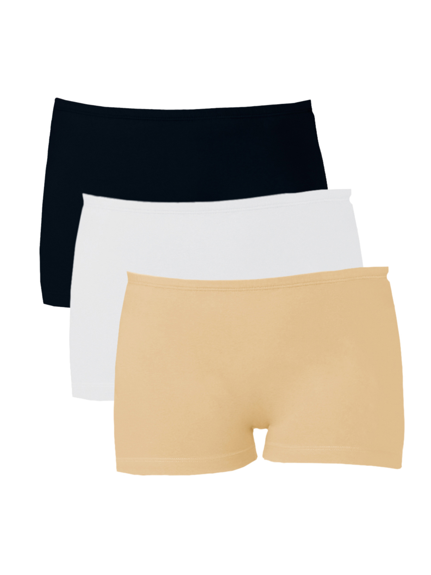 The Stalking Trends - Softrose-Women-Pack-of-3-Boyshorts-SH7004BWS_95df4836ef6677ae72f0951eea8cd609_images