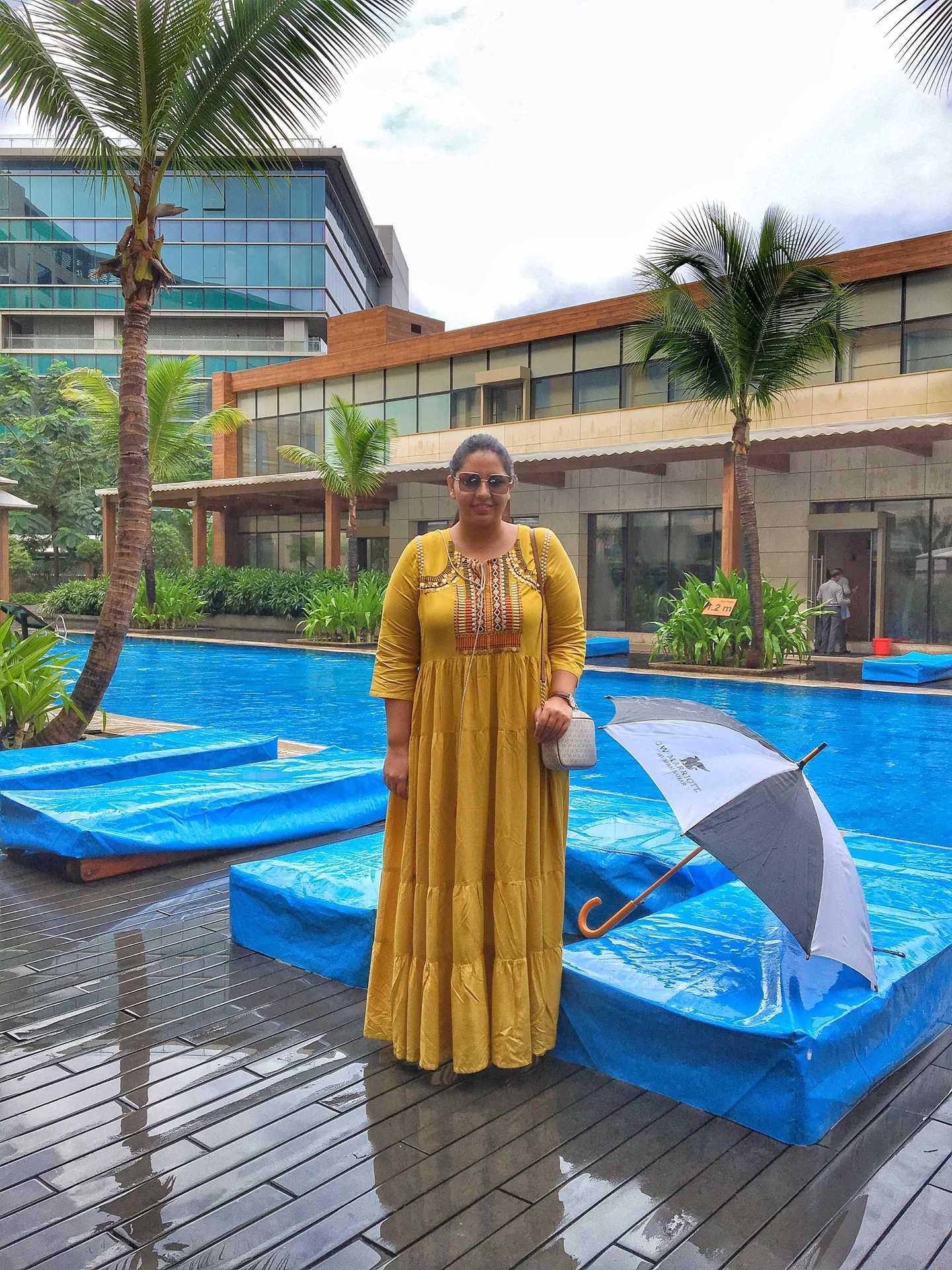 A World Class Experience- J W MARRIOT Mumbai Sahar  Jazzfoodtravelshop image