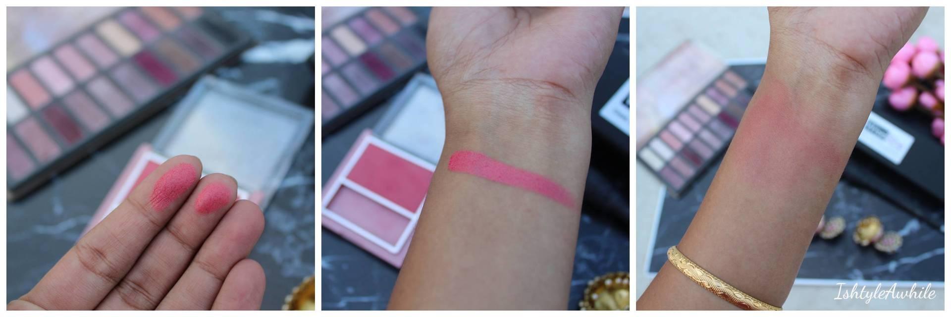 IshtyleAwhile - lakme 9 to 5 peach affair blush review ishtyleawhile