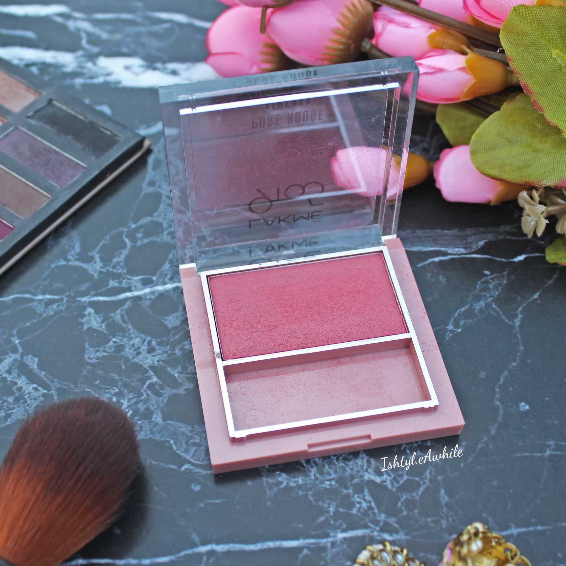 IshtyleAwhile - Lakme Blush in peach affair review and swatches