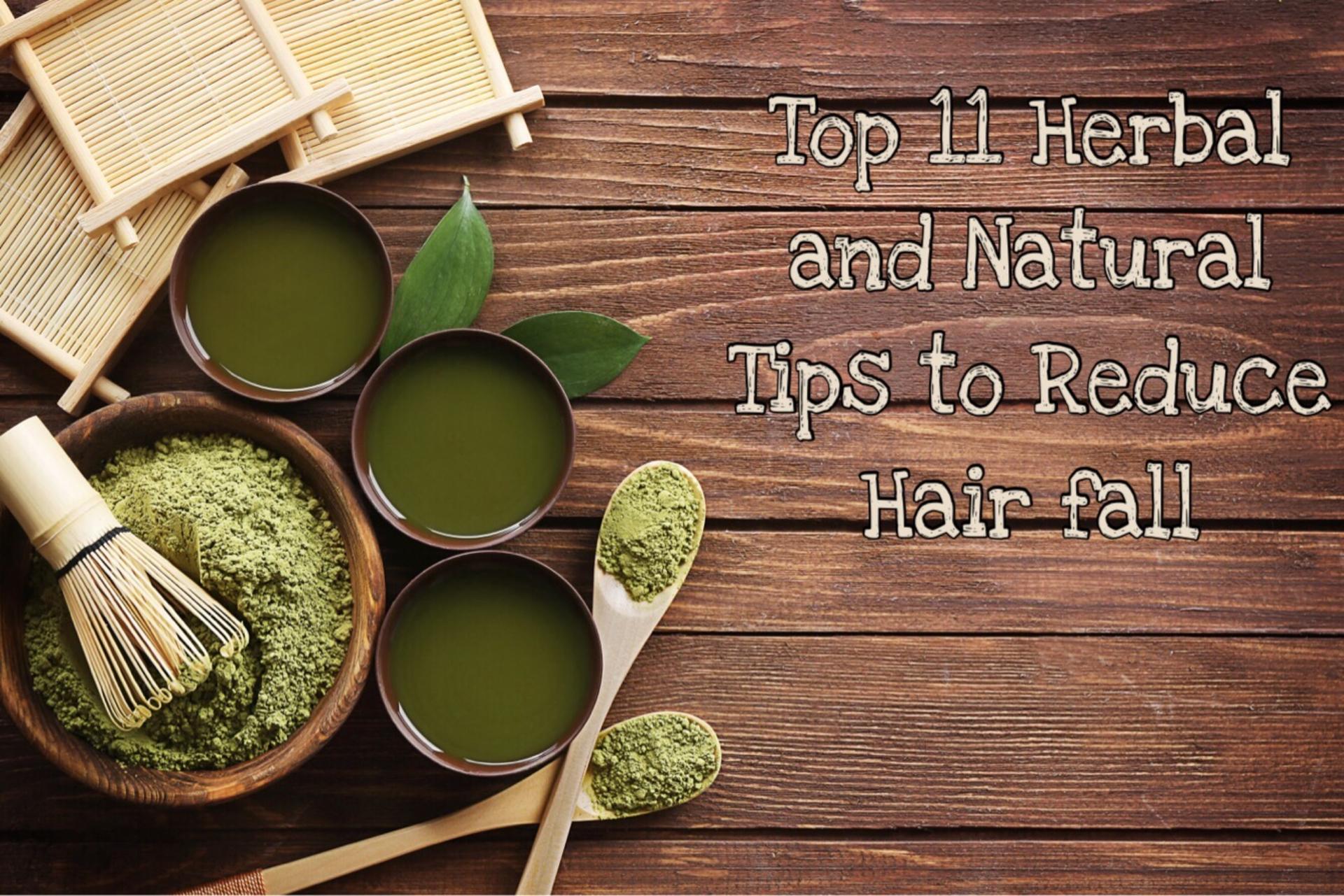 Natural Tips To Reduce Hairfall image
