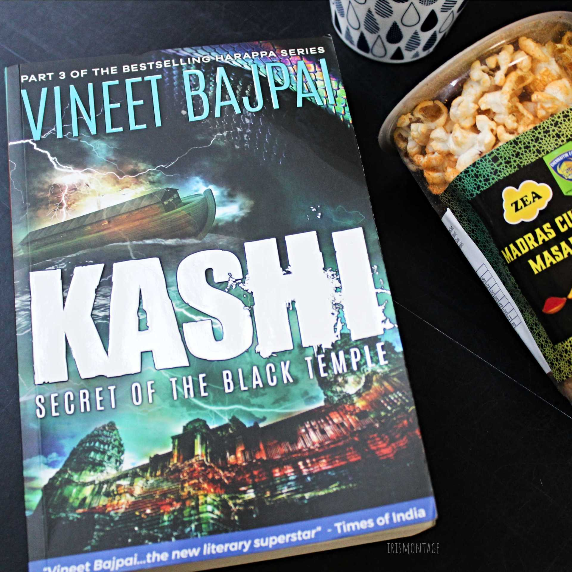 Kashi, Secret of the Black Temple by Vineet Bajpai image