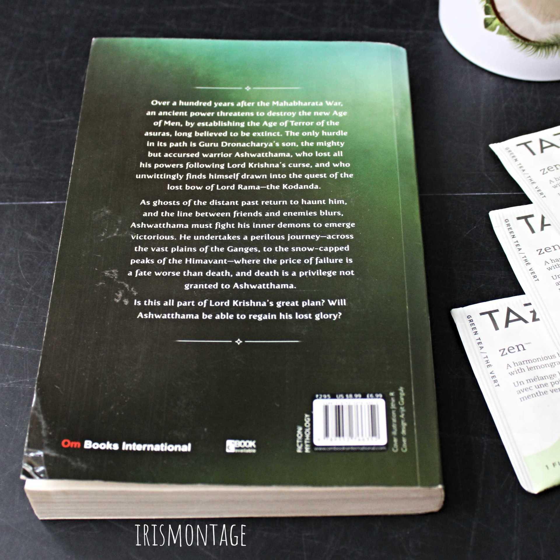 IrisMontage - gunjan porwal ashwatthama redemption review