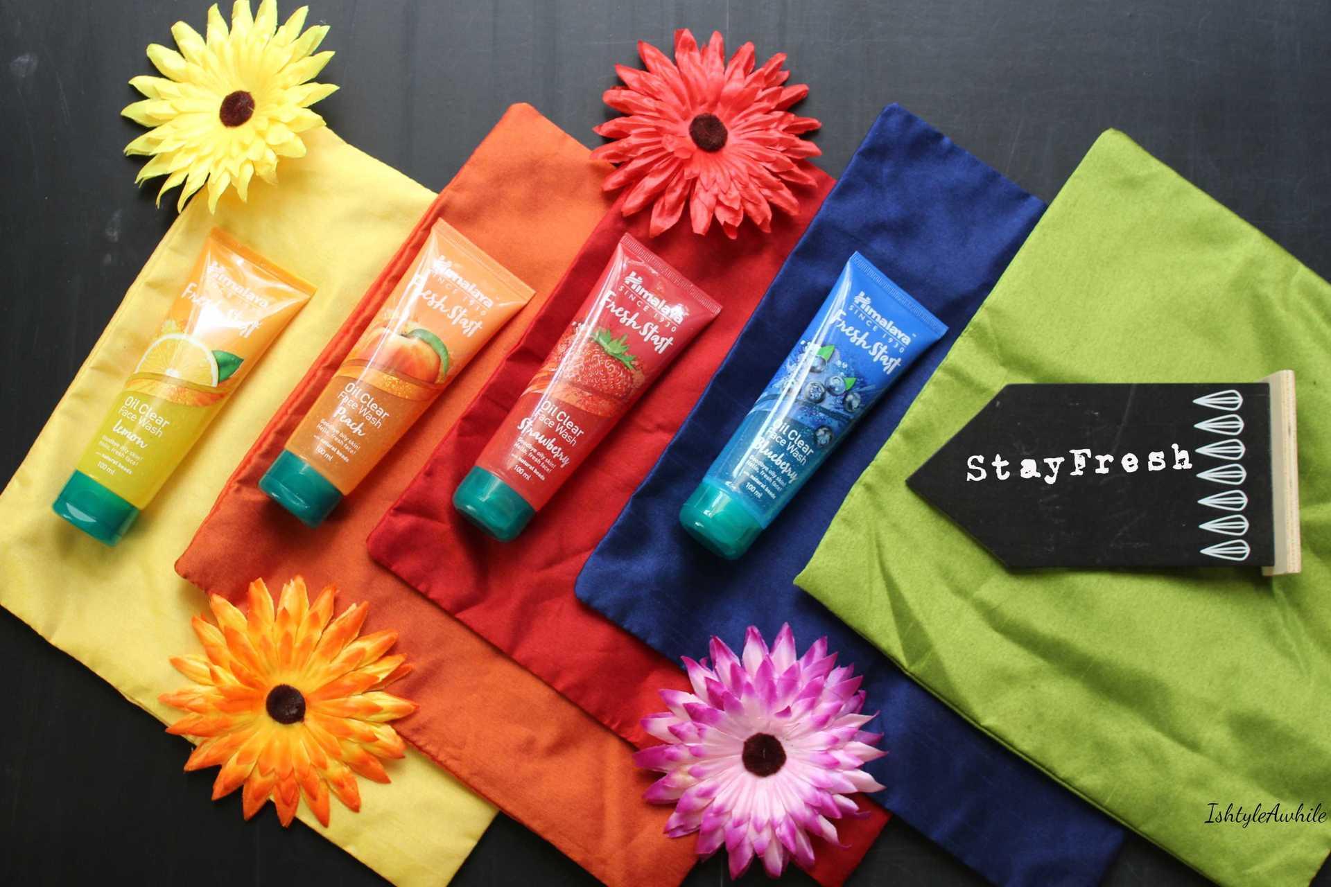 IshtyleAwhile - Himalaya Fresh Start facial wash review