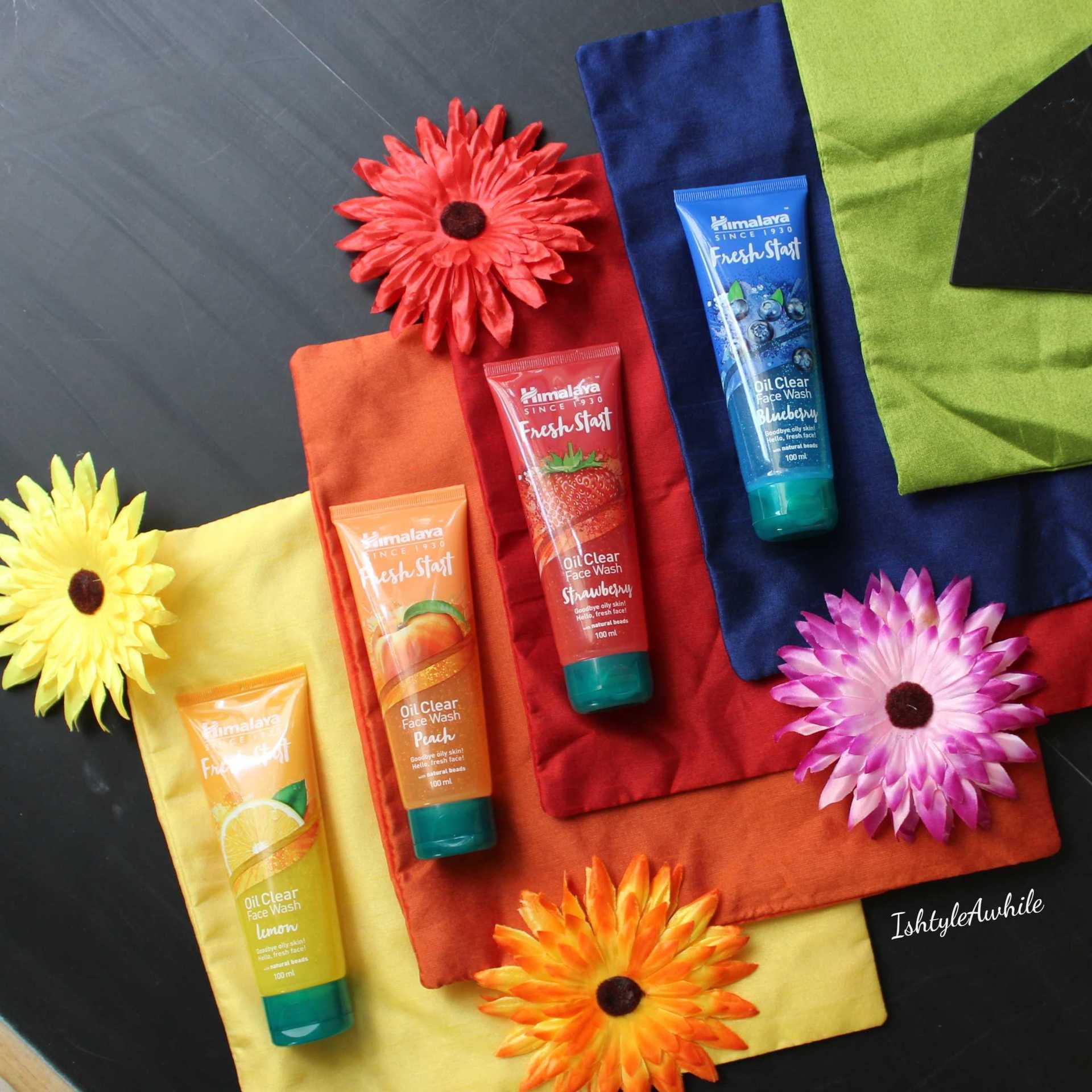 IshtyleAwhile - Himalaya Fresh_Start Facial wash review online