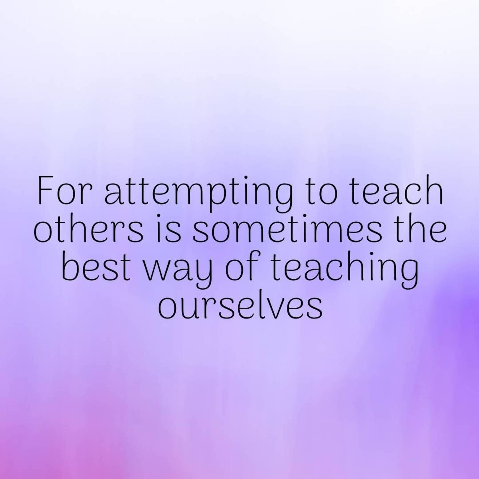 IshtyleAwhile - teaching
