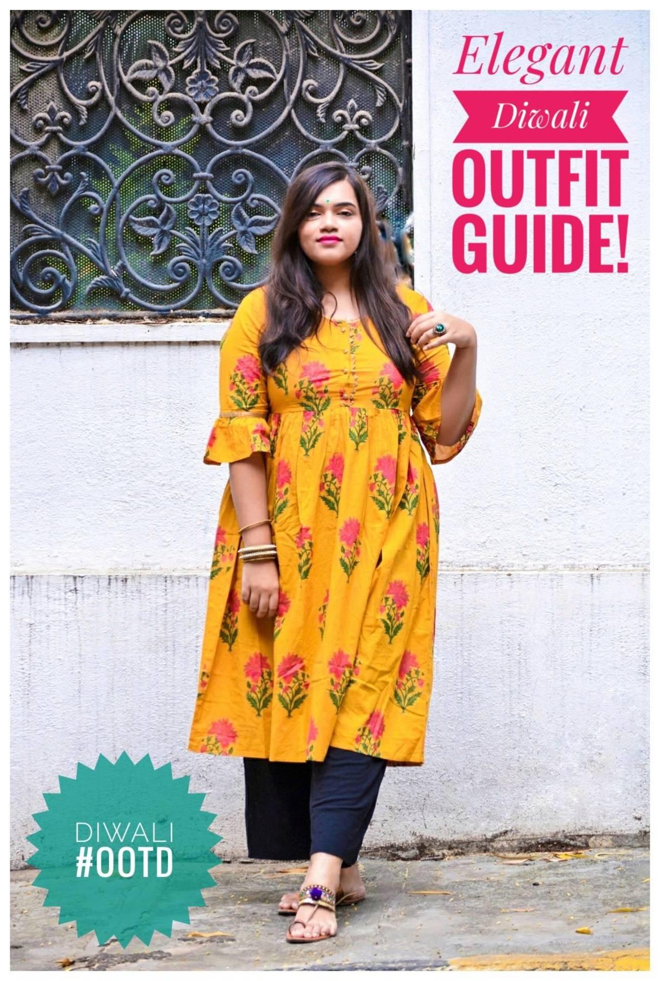 Elegant Diwali Outfit Guide! image