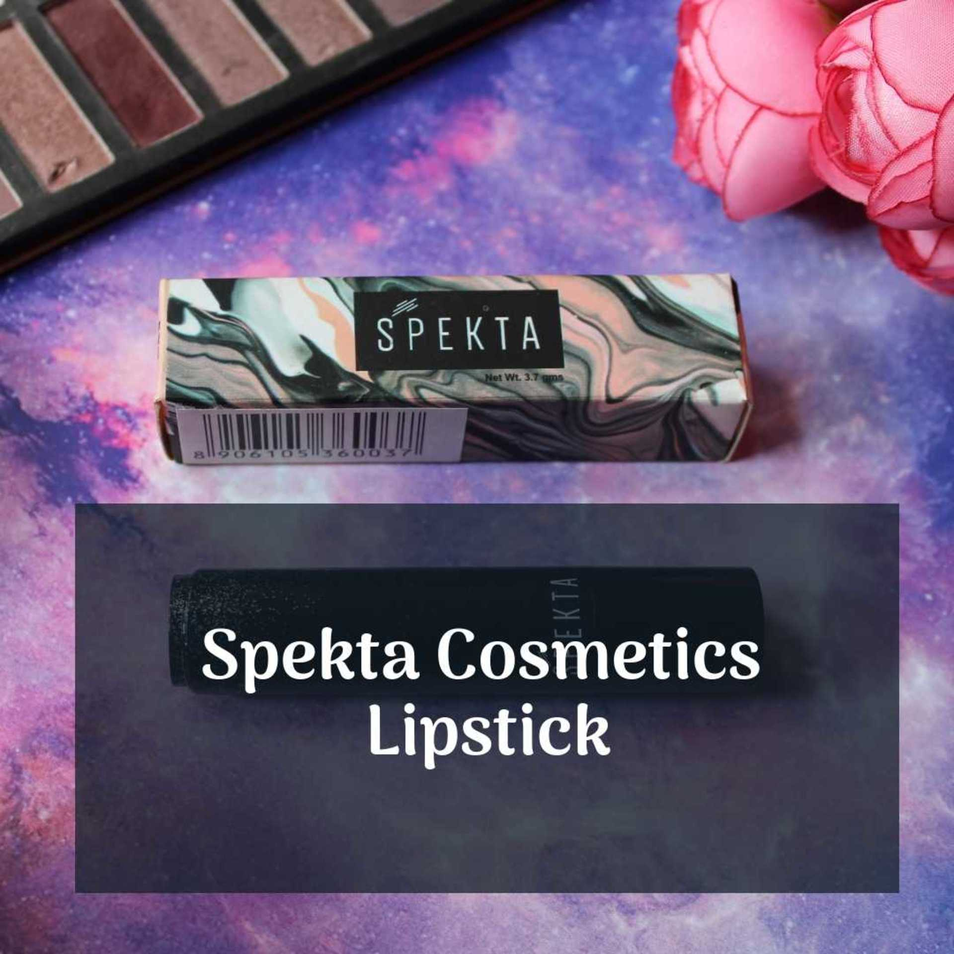 REVIEW: Spekta Cosmetics Lipstick in Alpha image