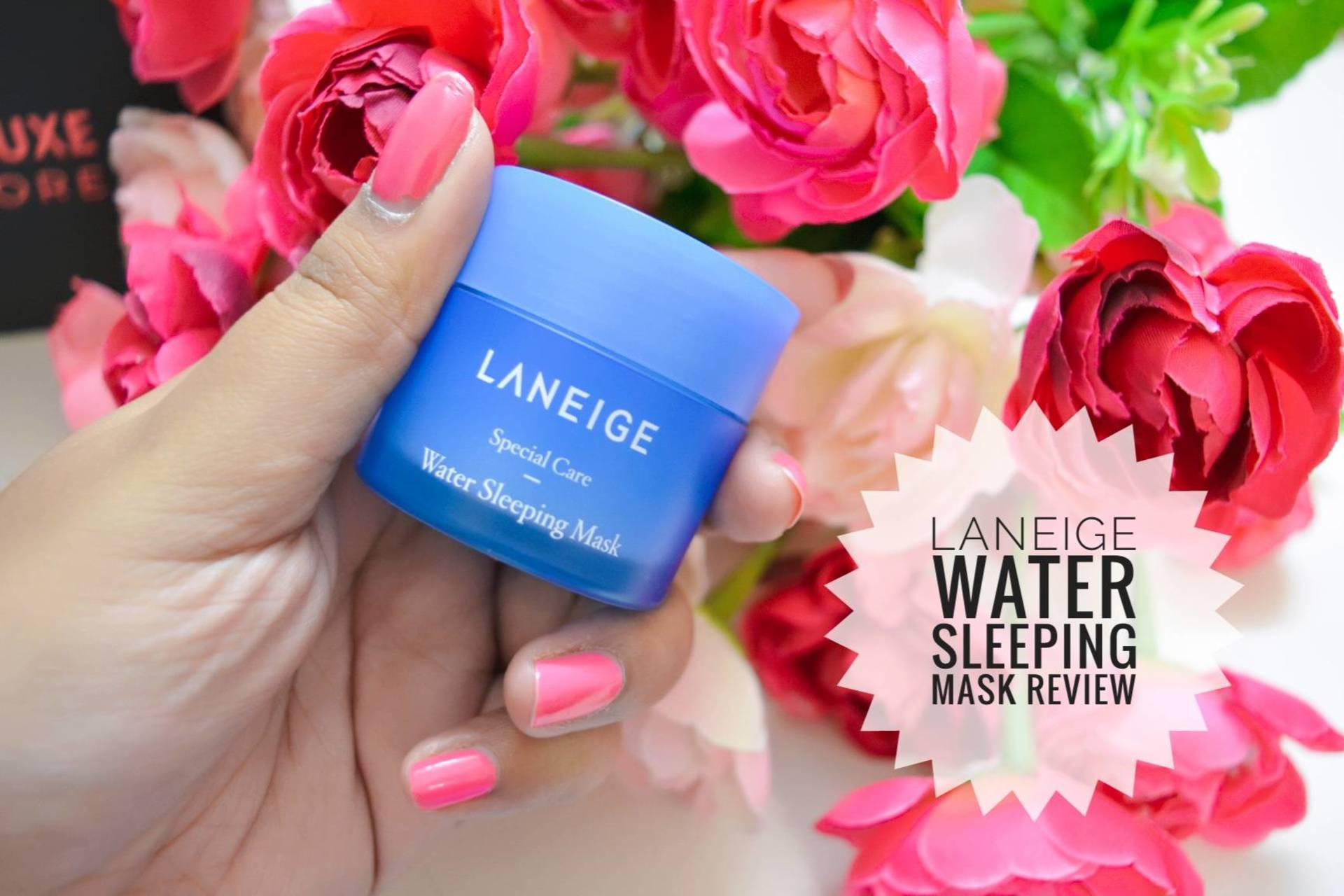 Laneige India Water Sleeping Mask Review! image