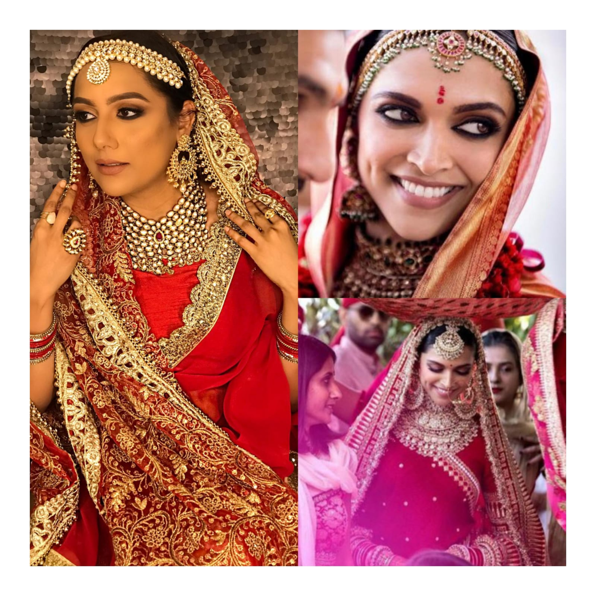 RECREATED DEEPIKA PADUKONE'S WEDDING LOOK image
