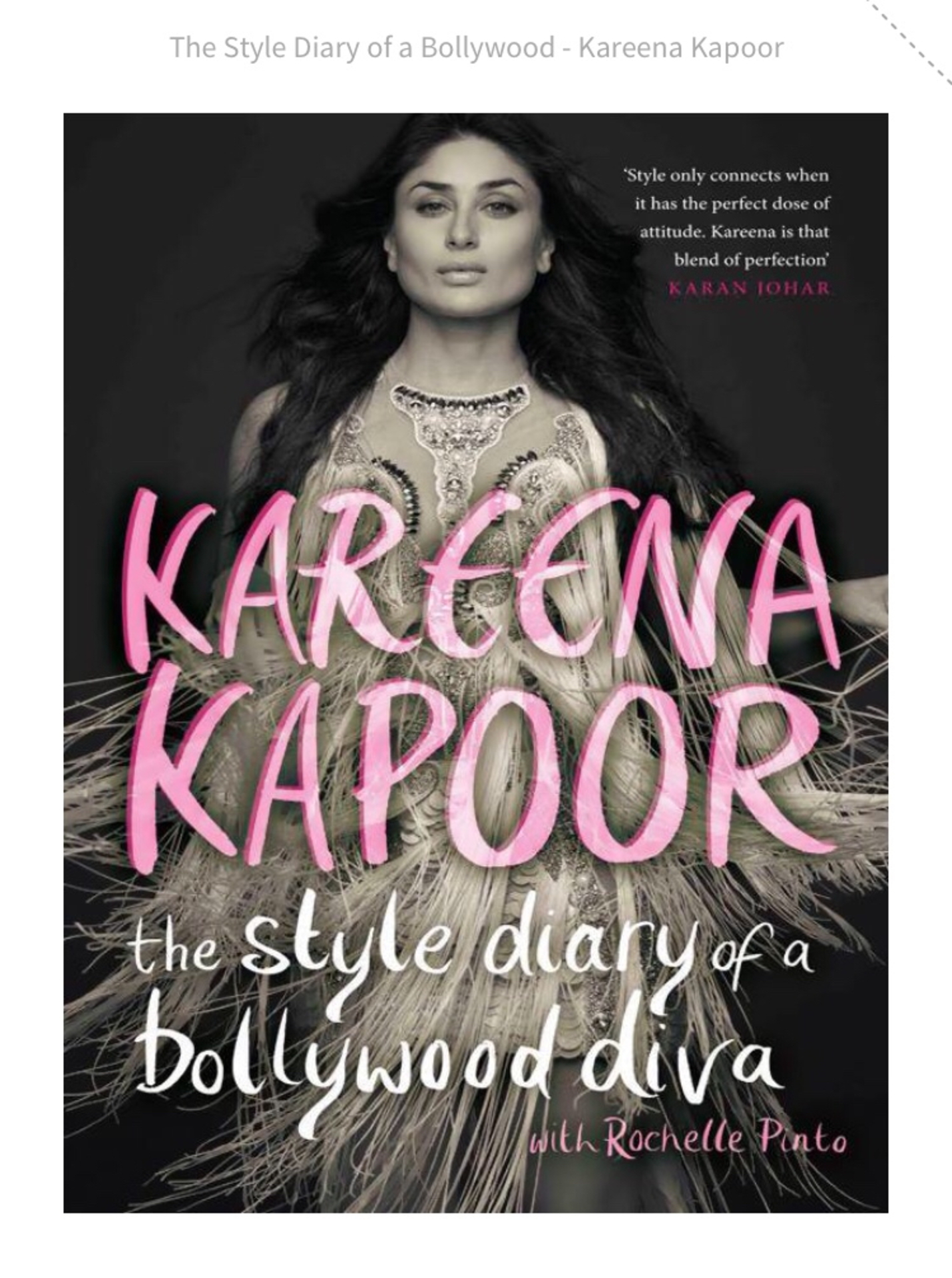 The Style diary of a Bollywood Diva - The book image