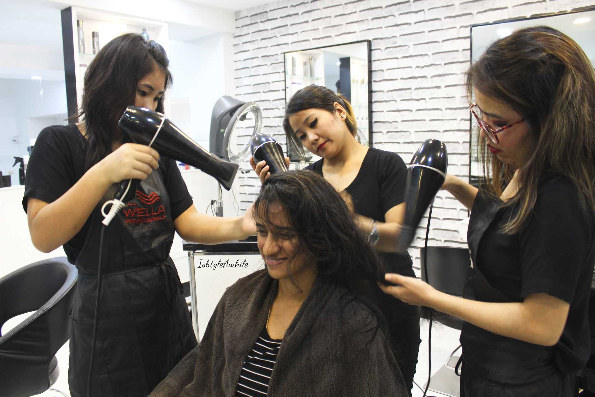 IshtyleAwhile - A Chennai based Indian Fashion Blog - plsh salon chennai review beauty blogger