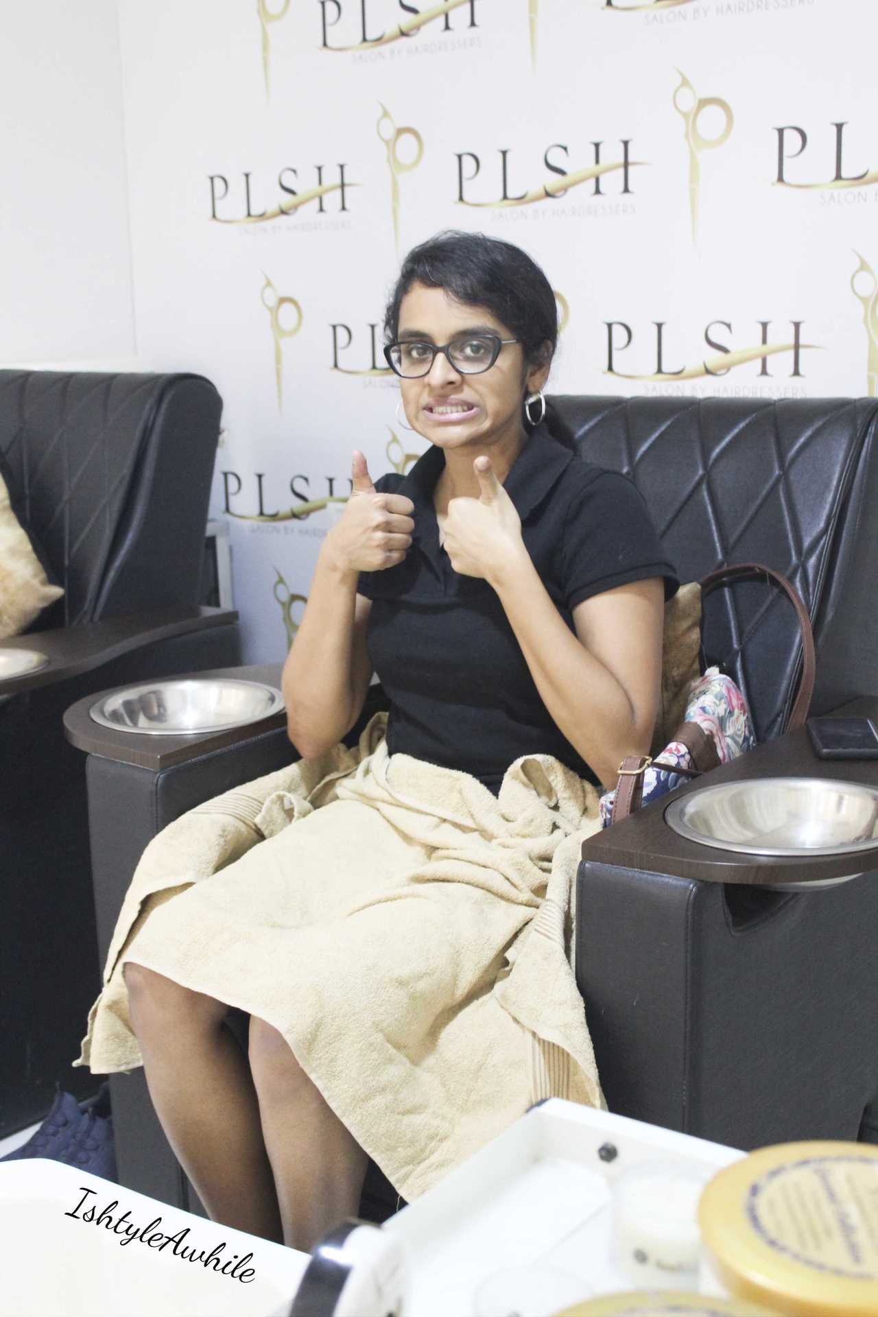 IshtyleAwhile - A Chennai based Indian Fashion Blog - salon in chennai plsh salon review chennai beauty blogger