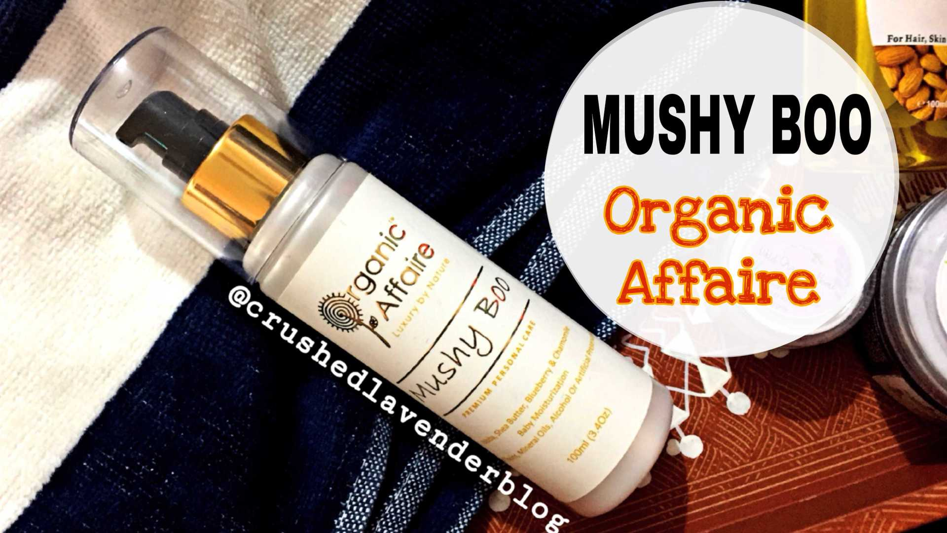 MUSHY BOO-Baby Lotion image