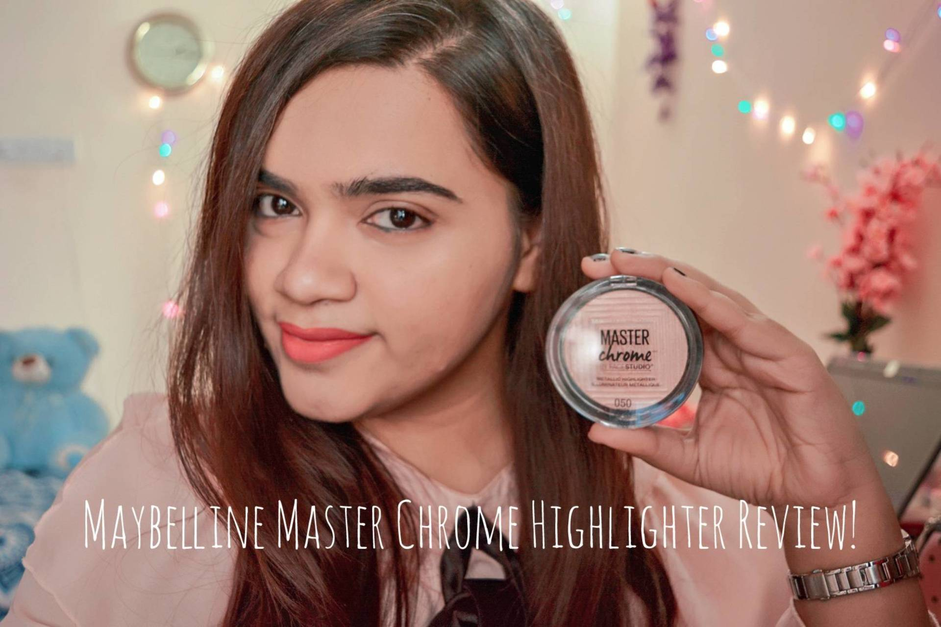 Maybelline Master Chrome Highlighter Review! image