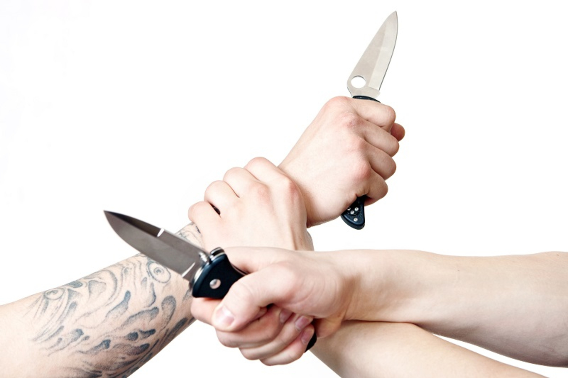 Effective Ways to Defend Yourself against a Knife Fight image