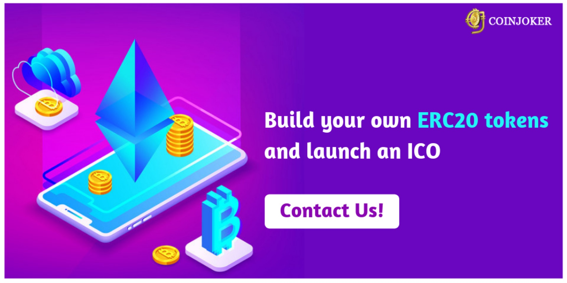 Build your own ERC20 tokens and launch an ICO image
