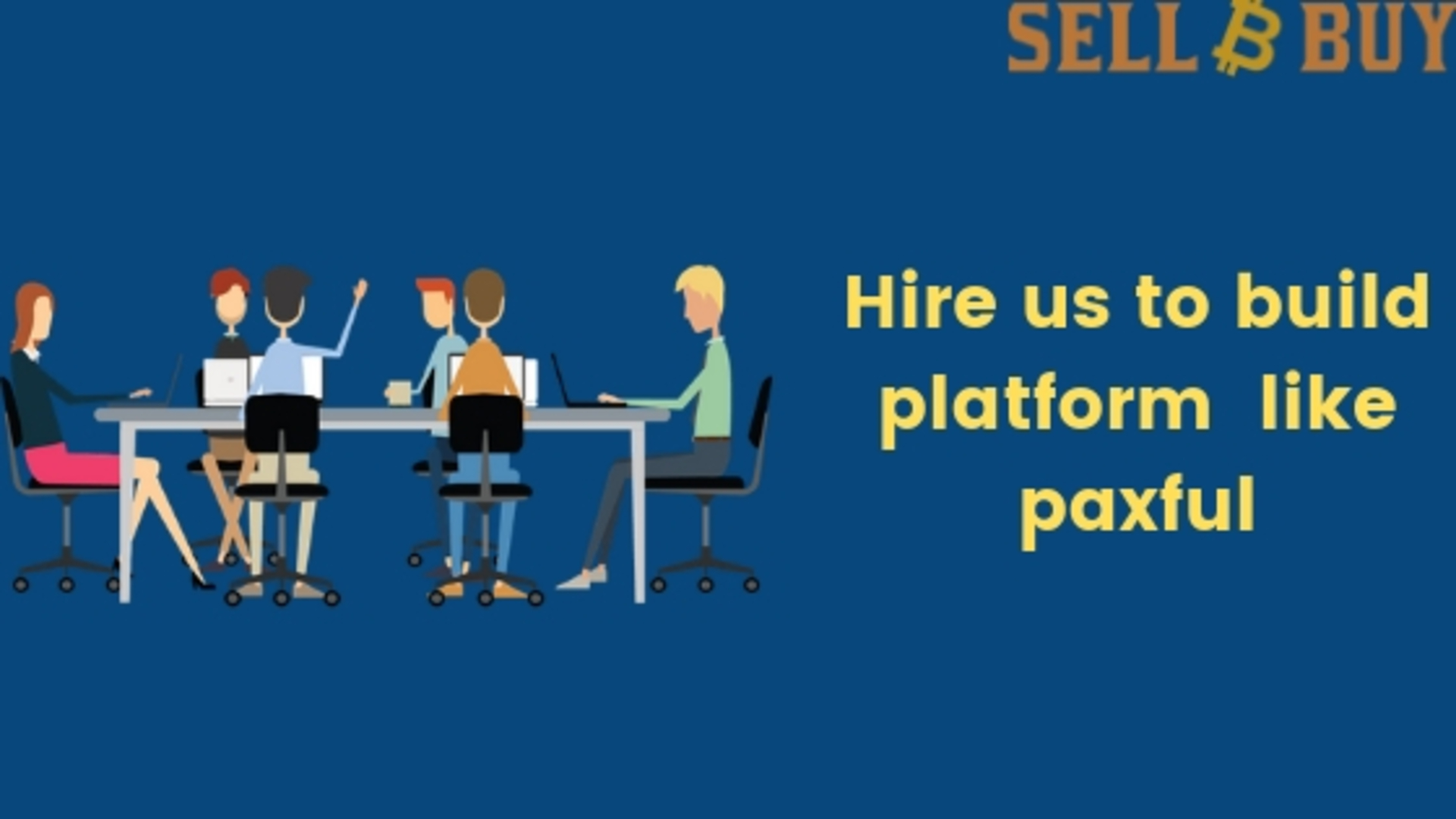Hire us to build exchange clone like paxful image