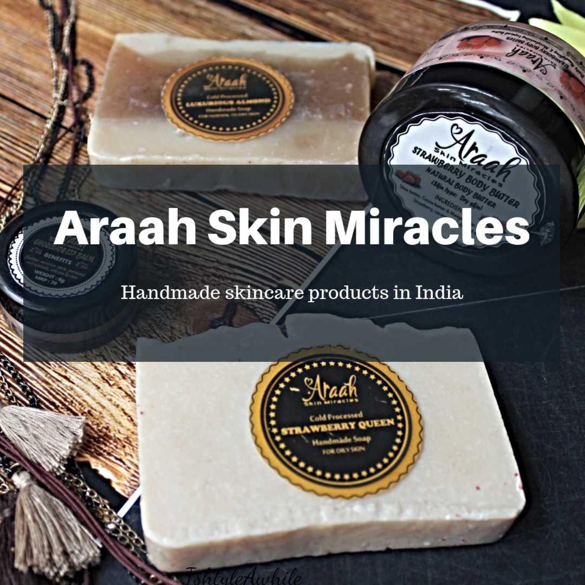 Handmade skincare brand: Araah Skin Miracles image