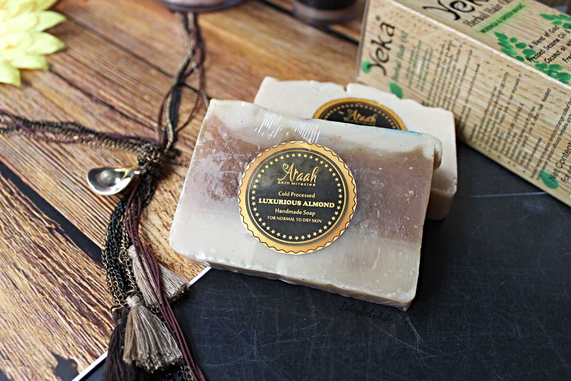 IshtyleAwhile - A Chennai based Indian Fashion Blog - handmade skincare soap chennai