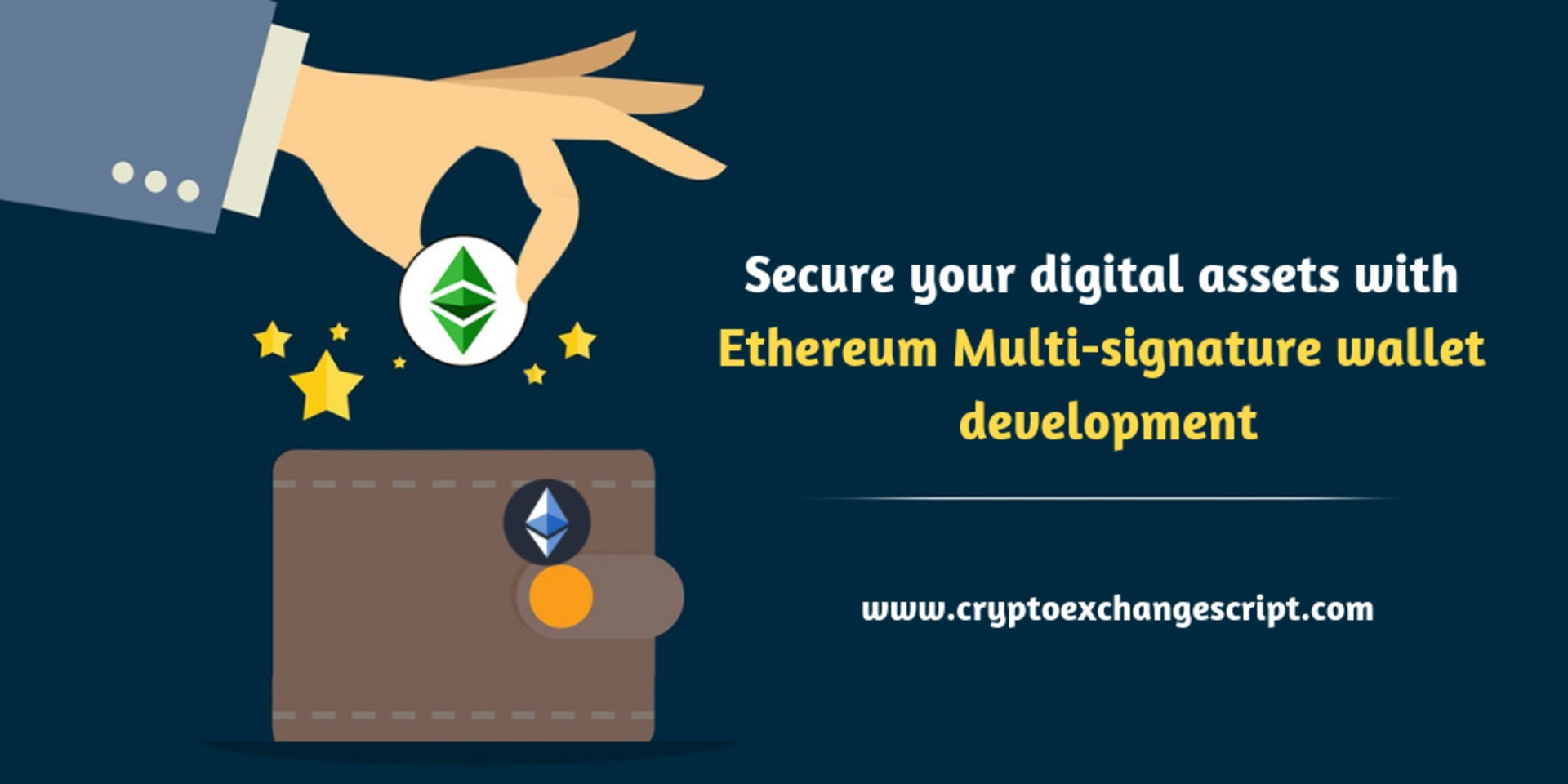 Secure your digital assets with ethereum multi signature wallet development  image
