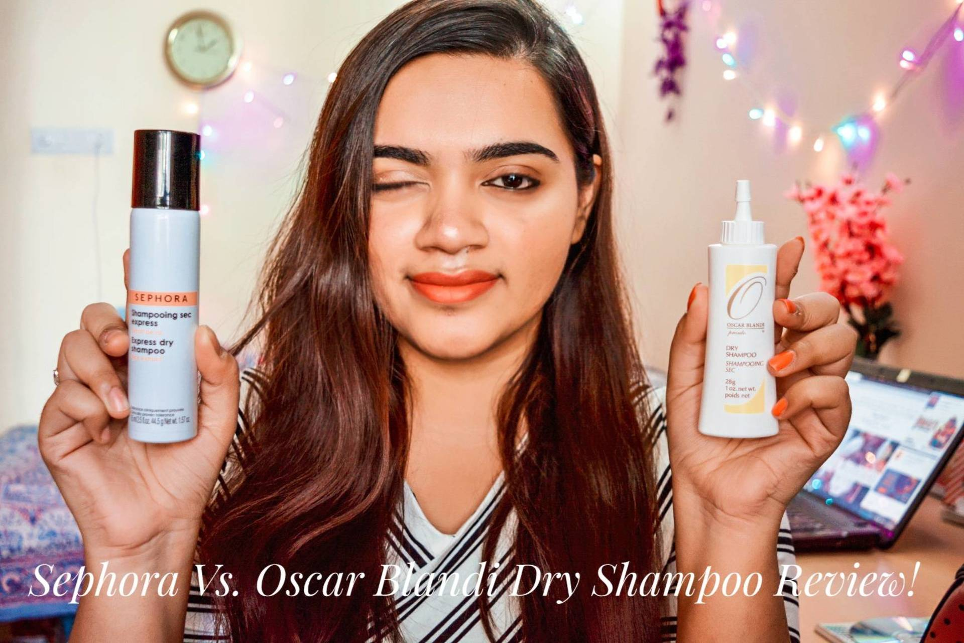Sephora Vs. Oscar Blandi Dry Shampoo Comparision Review!  image