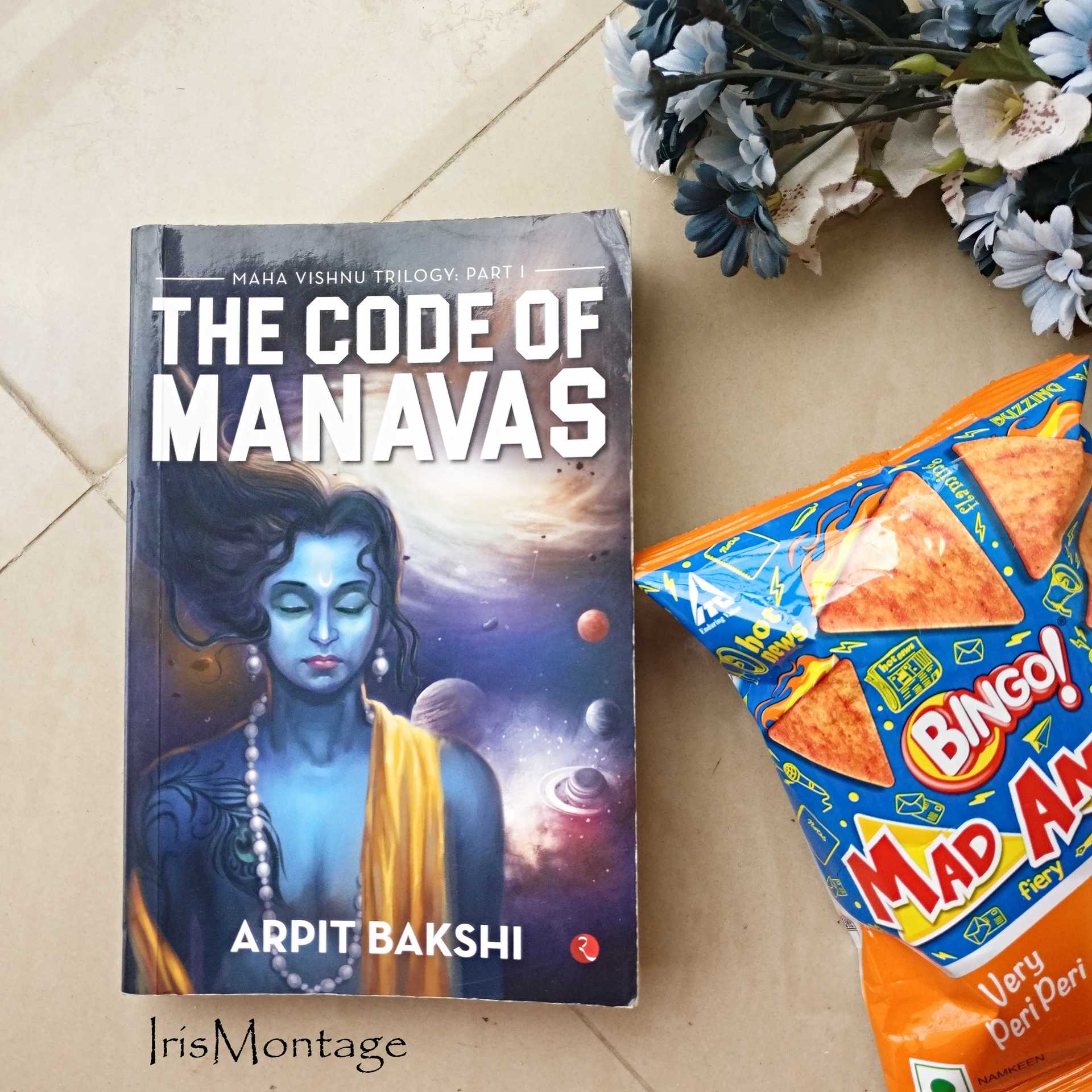 The Code of Manavas,by Arpit Bakshi image