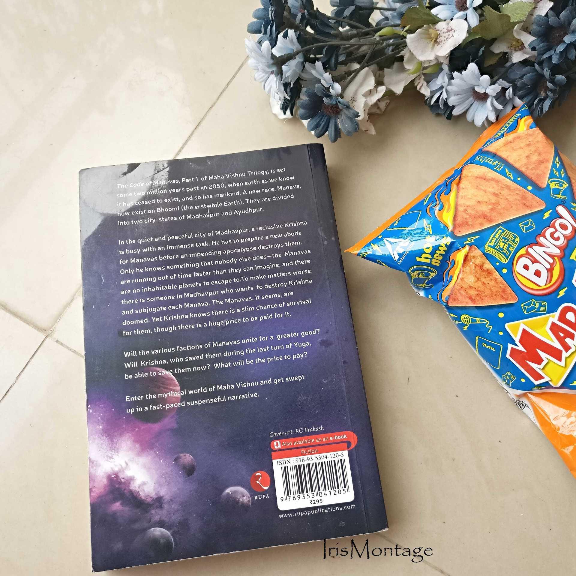 IrisMontage - The Code of Manavas_review Arpit Bakshi