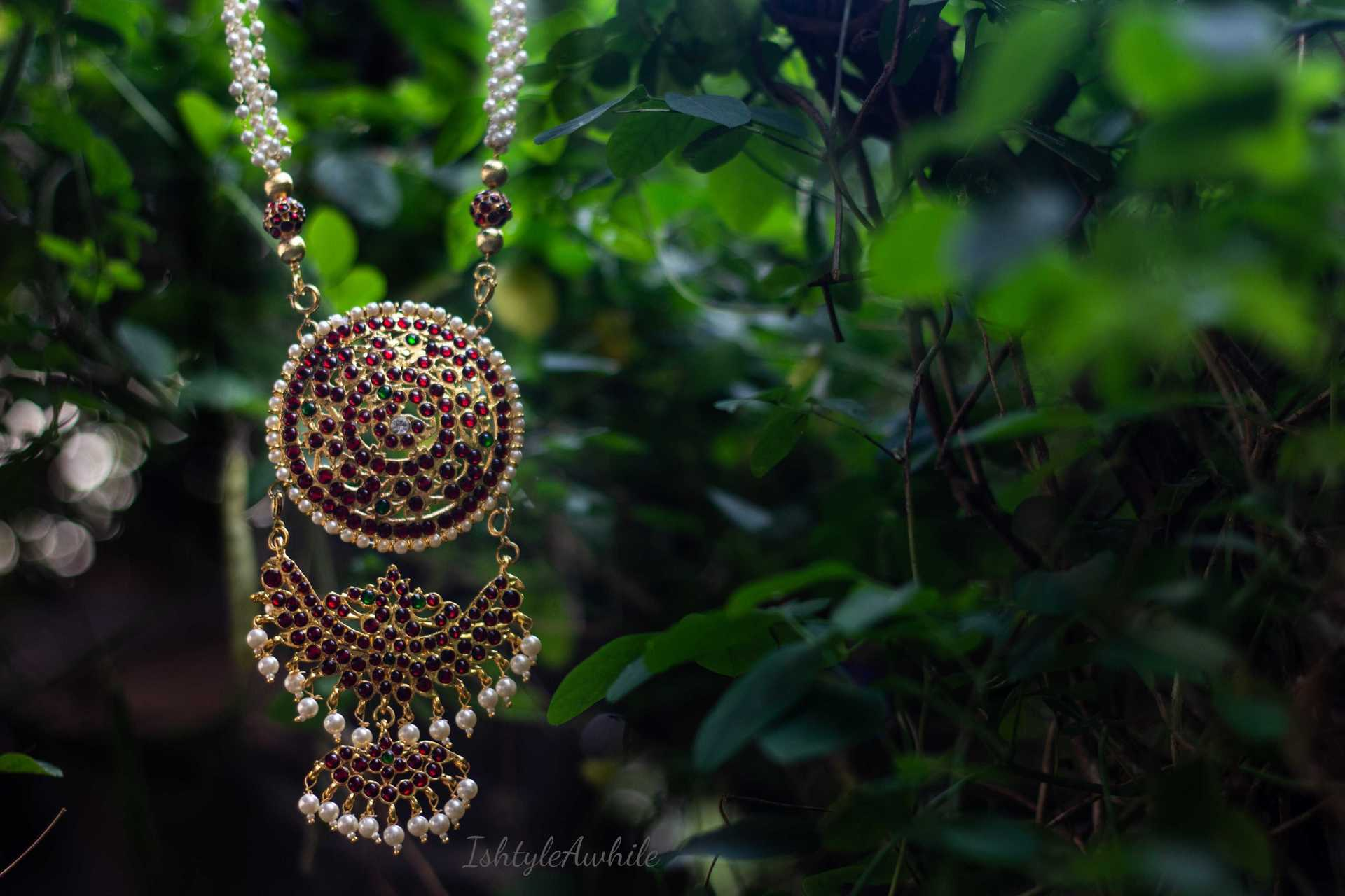 IshtyleAwhile - A Chennai based Indian Fashion Blog - Handmade kemp jewellery online jayas handiwork