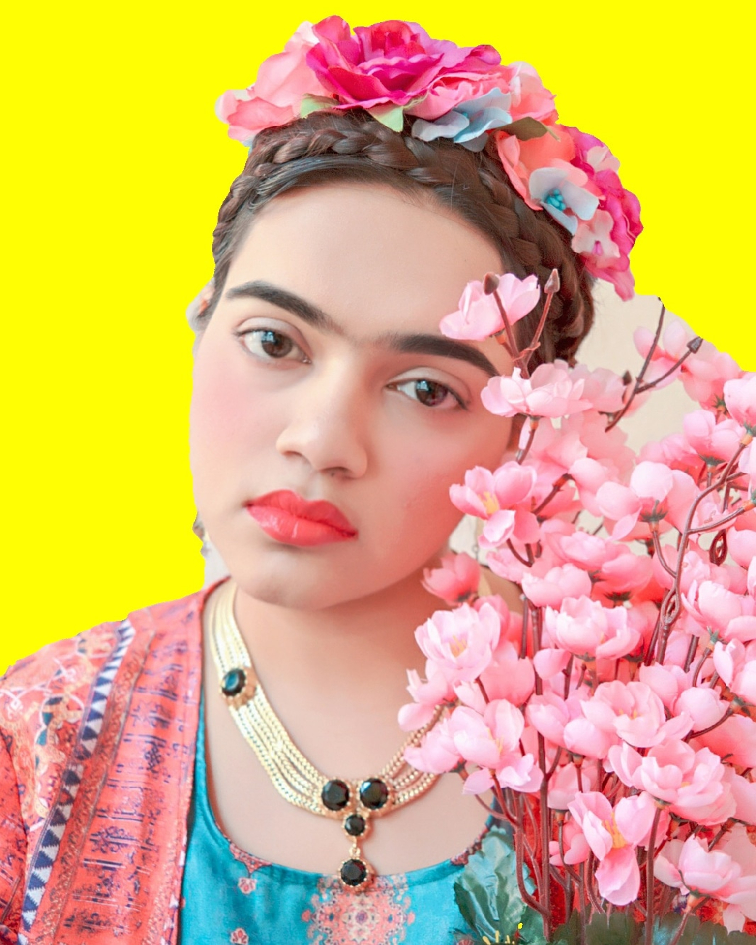 Photobeauty Series : Being Frida Kahlo image