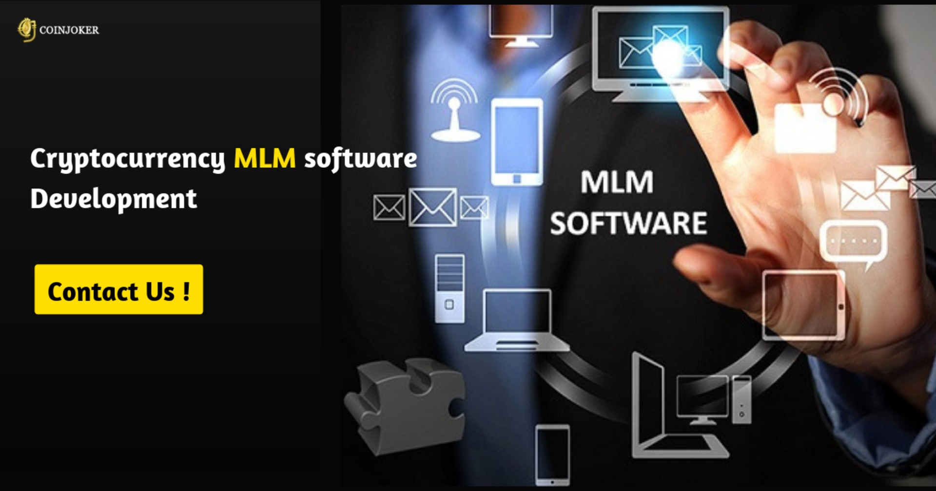 Importance of MLM software for your cryptocurrency business image