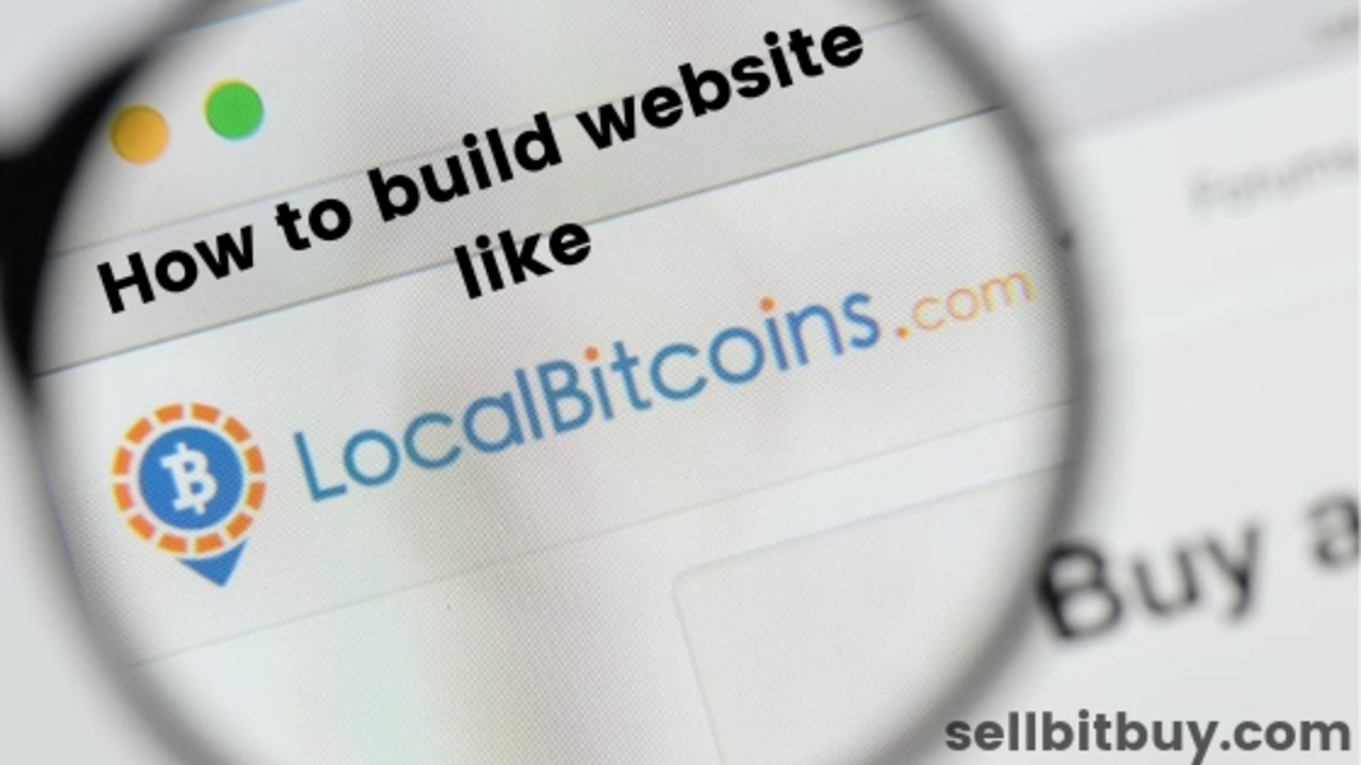 How to build your bitcoin exchange site like localbitcoins? image