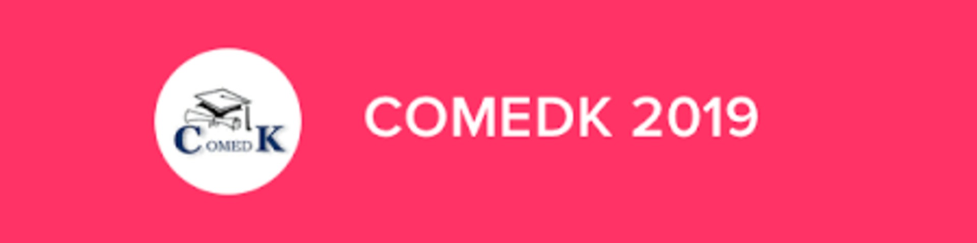 COMEDK 2019 image