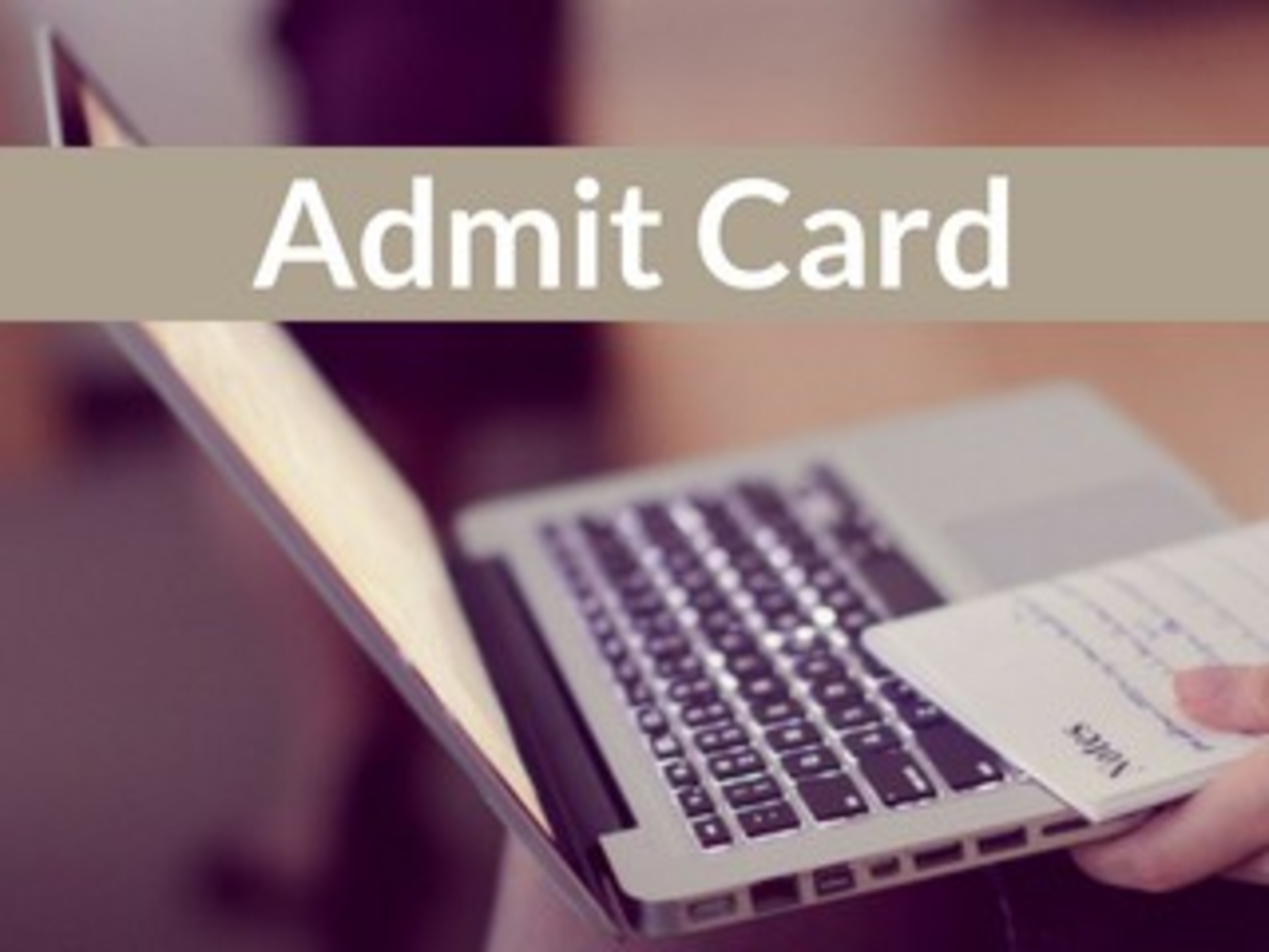 How to Download AMUEEE Admit Card 2019 image