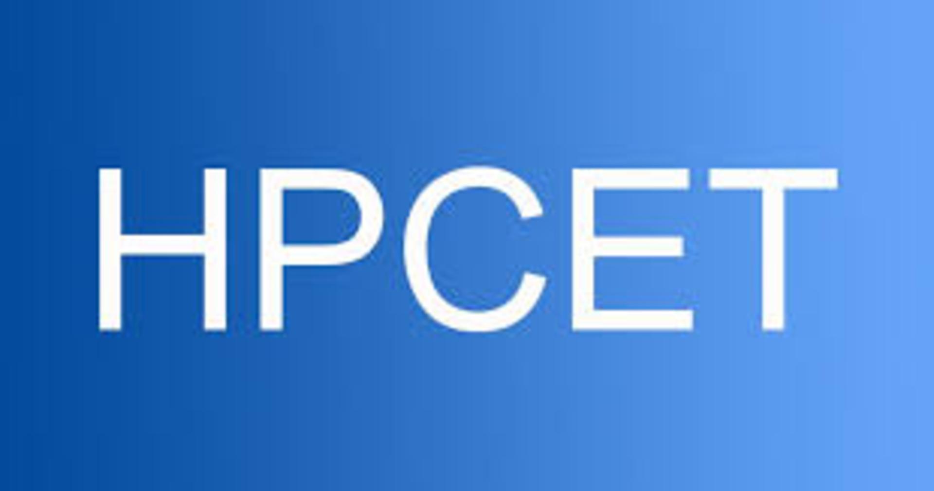HP CET 2019 image