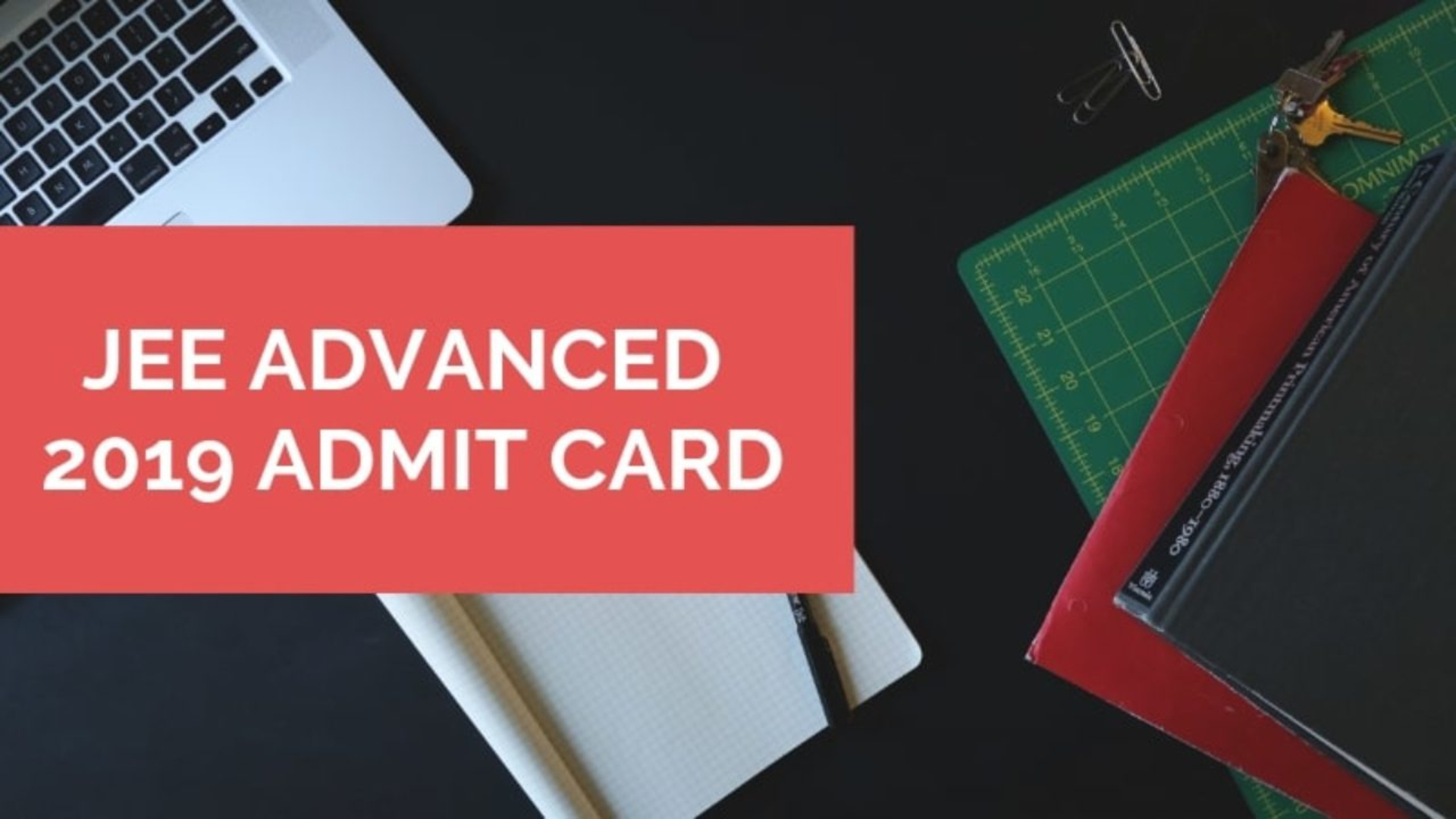 JEE Advanced Admit Card 2019 image