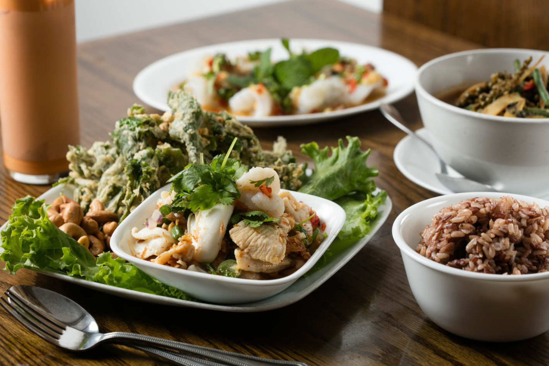 The Wonderful Style Of Thai Food image
