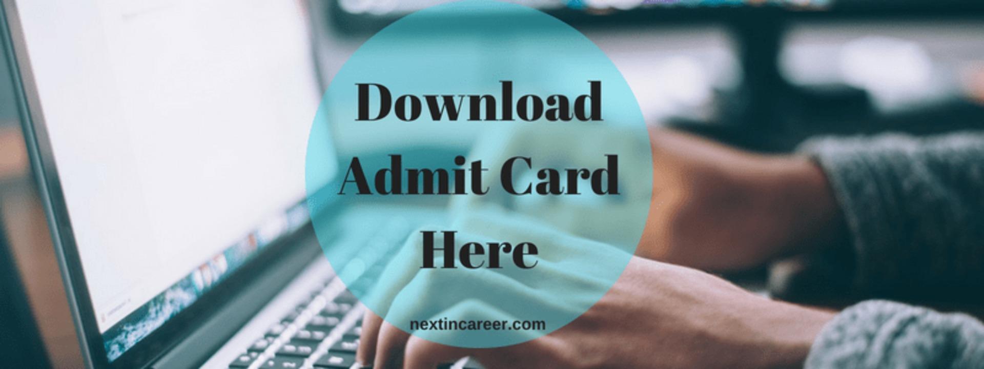 AMUEEE Admit Card 2019 image