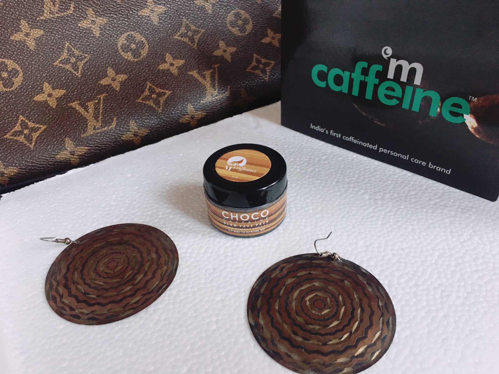 Mcaffeine Choco Caffeine Glow face pack - Review image