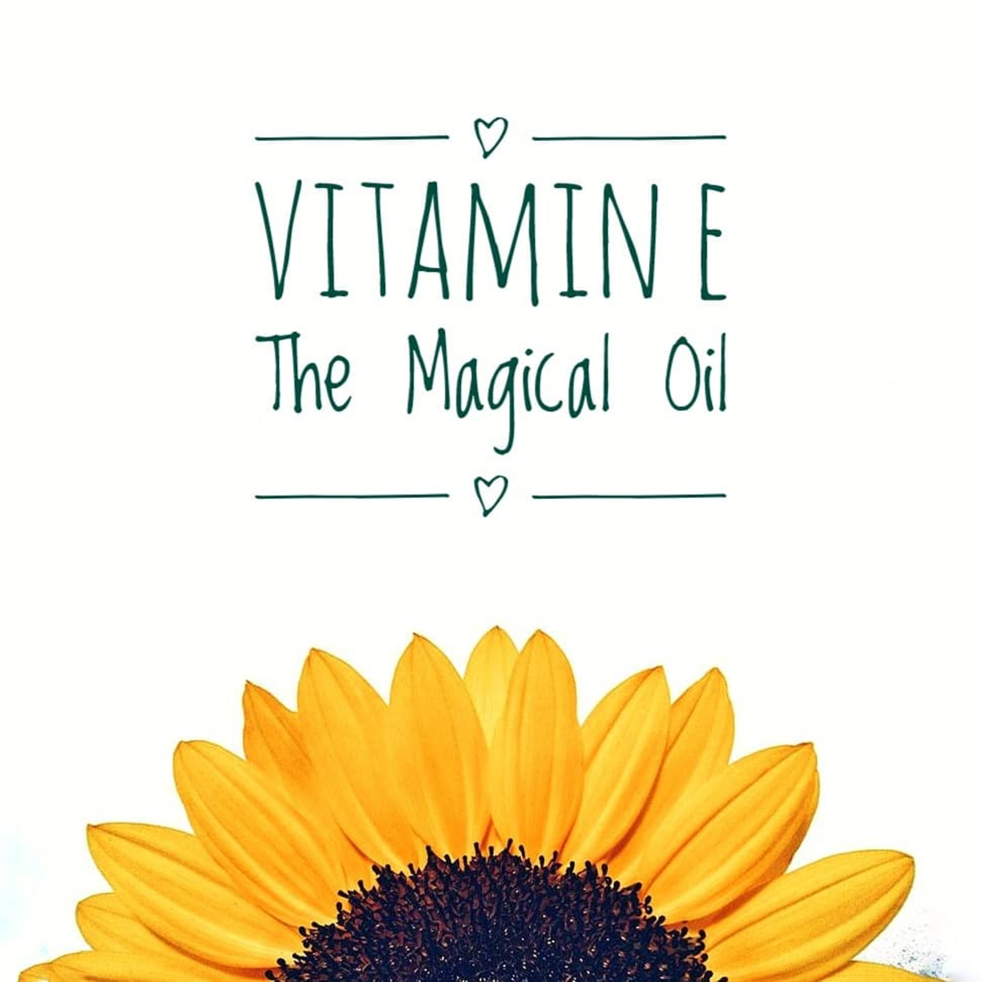 Vitamin E the Miracle Oil image