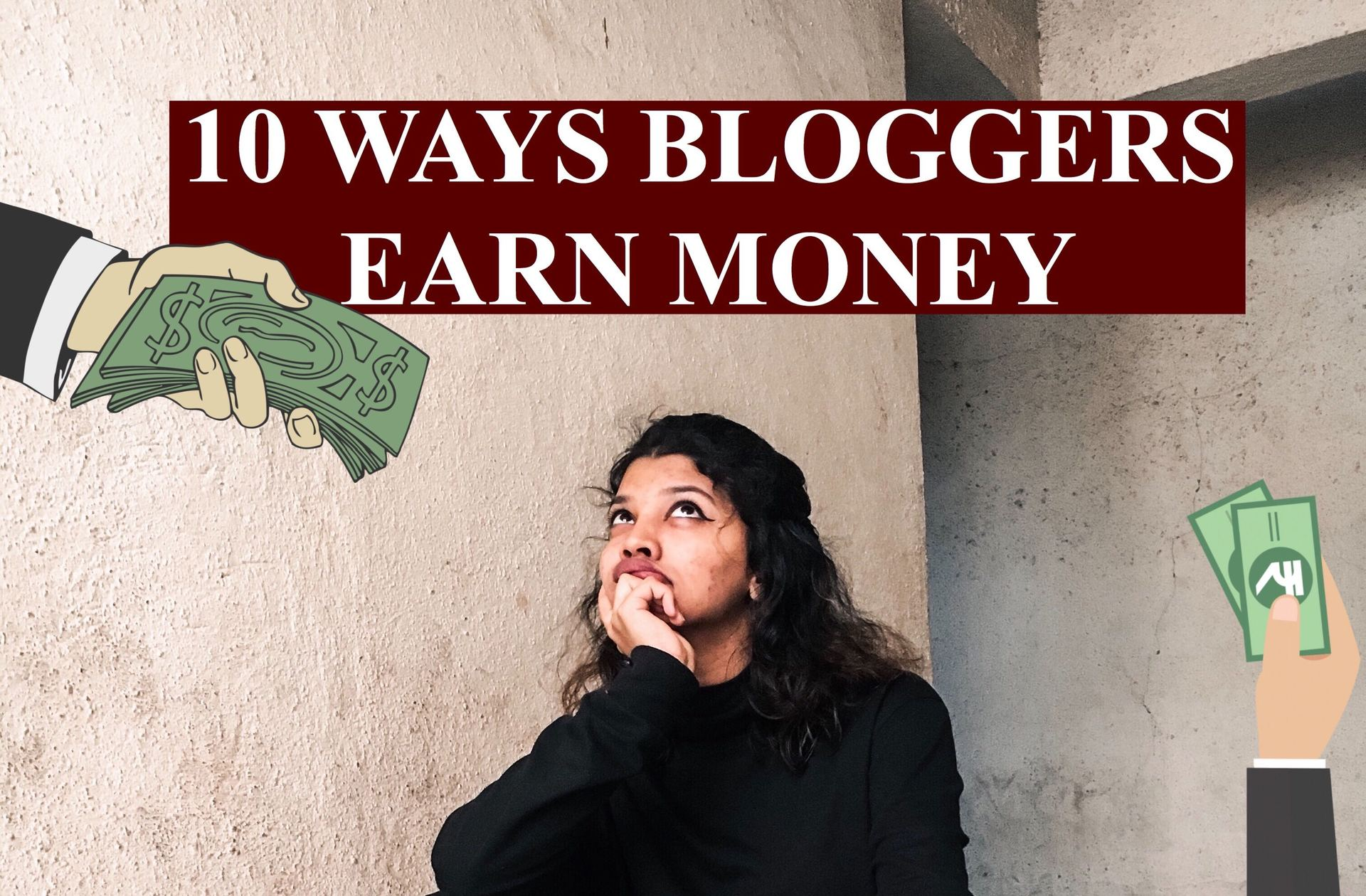 How do bloggers earn money? image