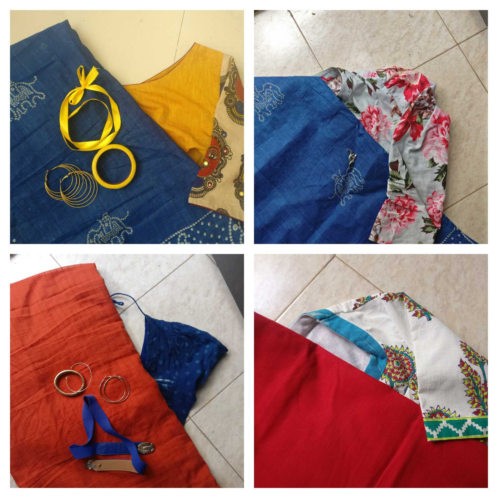 IshtyleAwhile - A Chennai based Indian Fashion Blog - Blouse collage