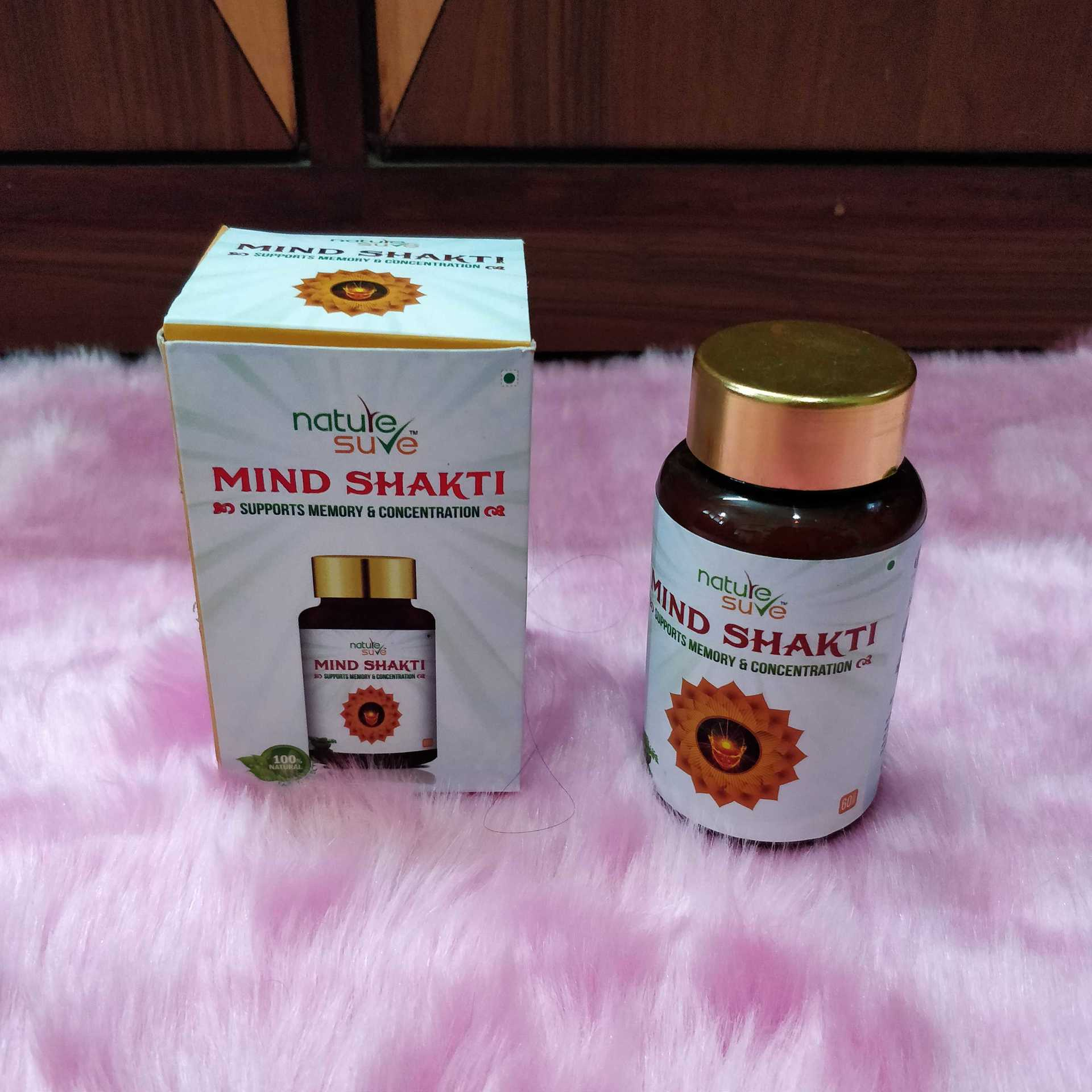 Improve your memory with Nature Sure's Mind Shakti Capsules image