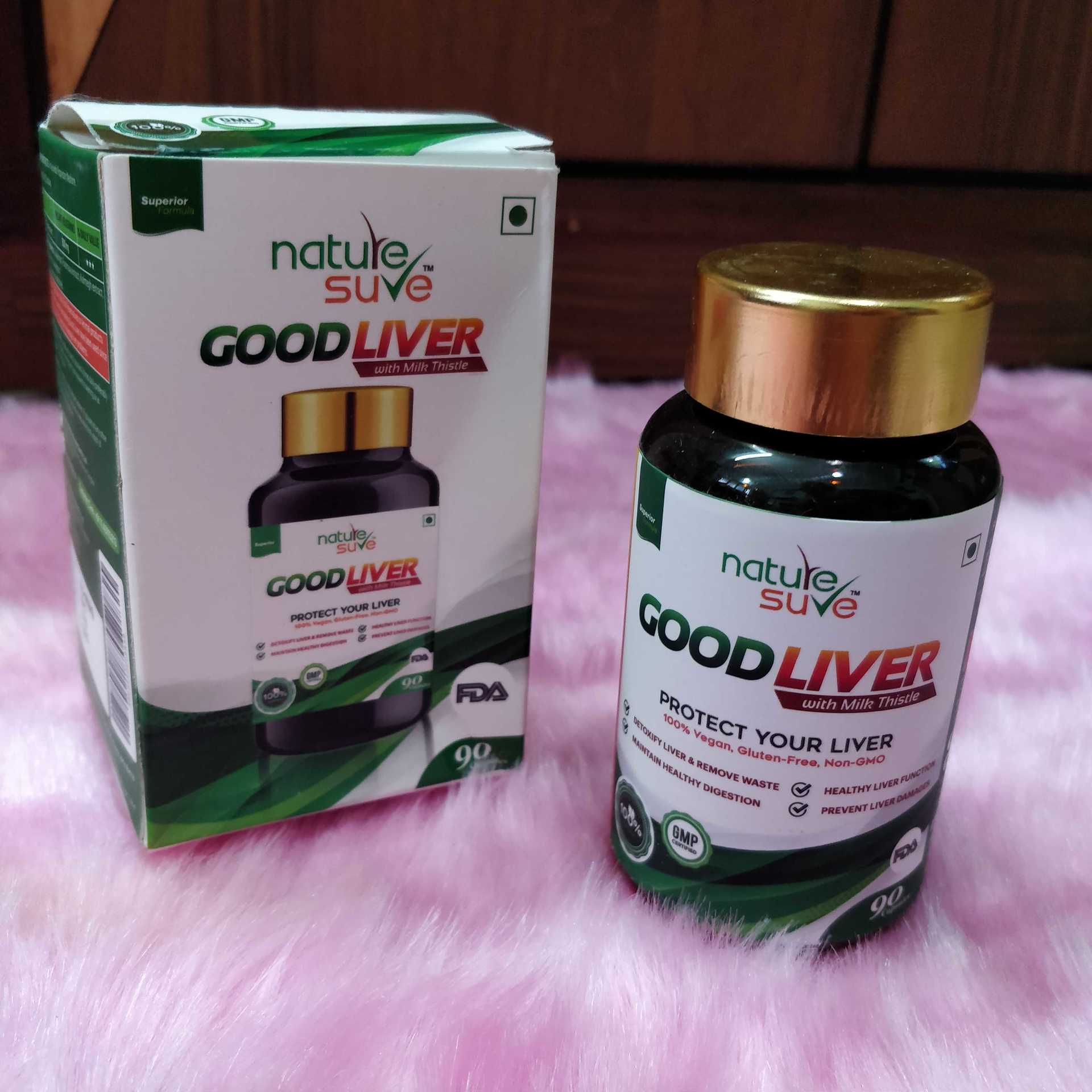 Nature Sure's Good Liver Capsules image
