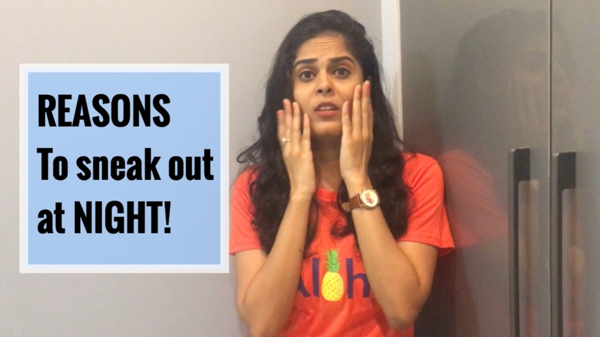 Excuses we make to sneak out for a night out! image