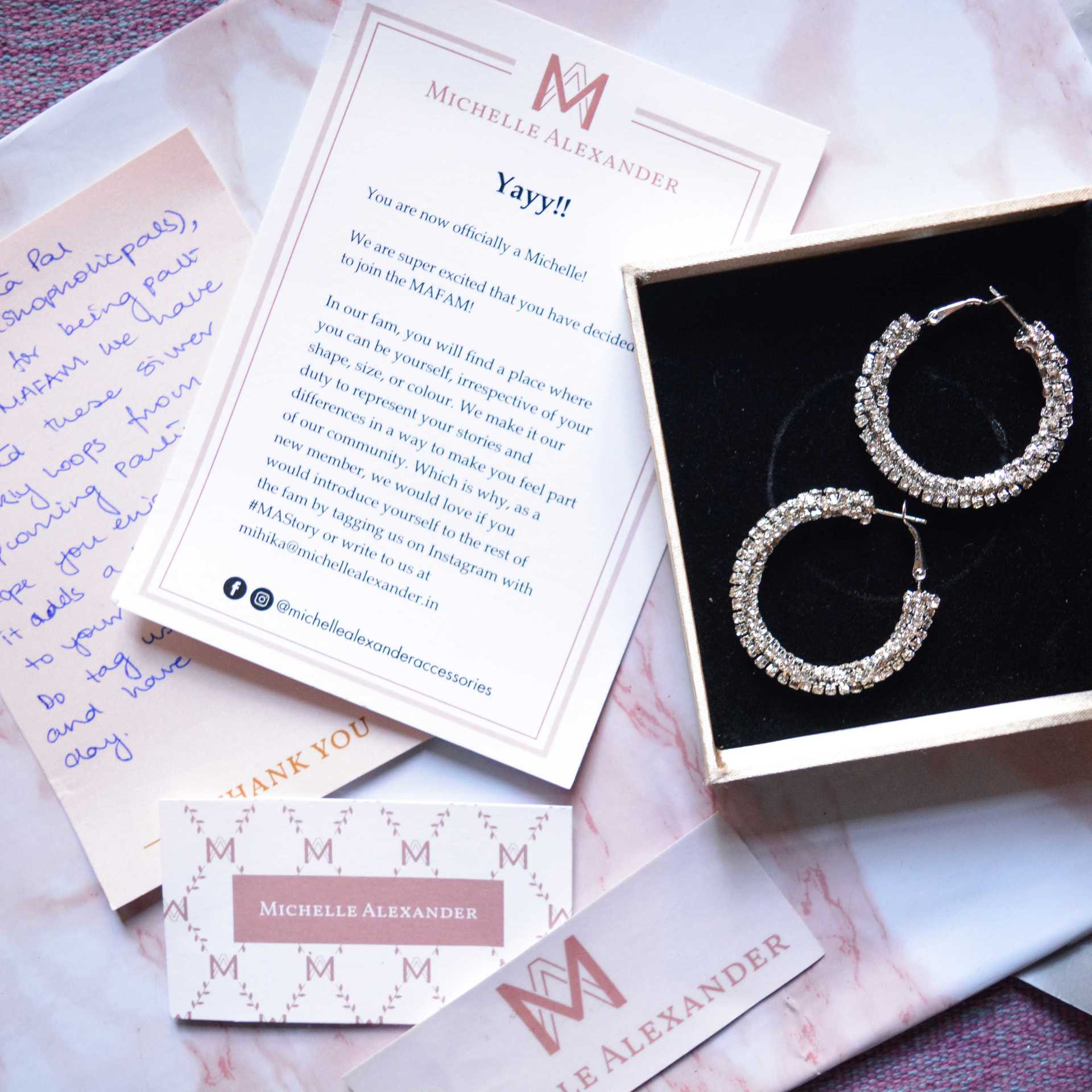 Michelle Alexander Jewellery Unboxing + Review! image