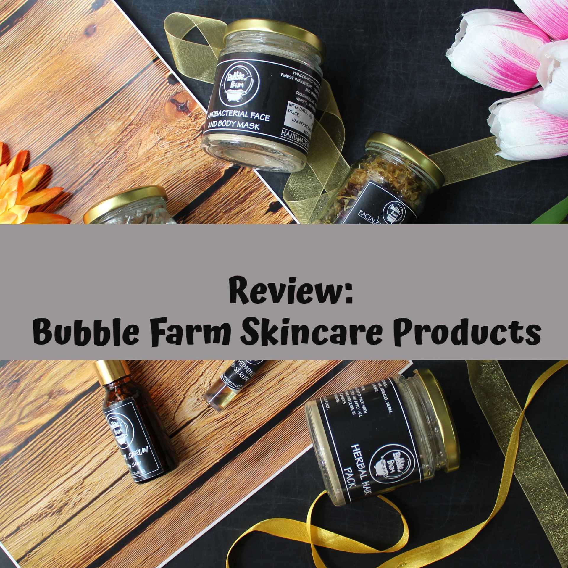 My top skincare products from BubbleFarm image